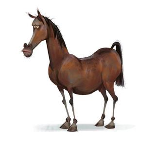 Cavalo teimoso