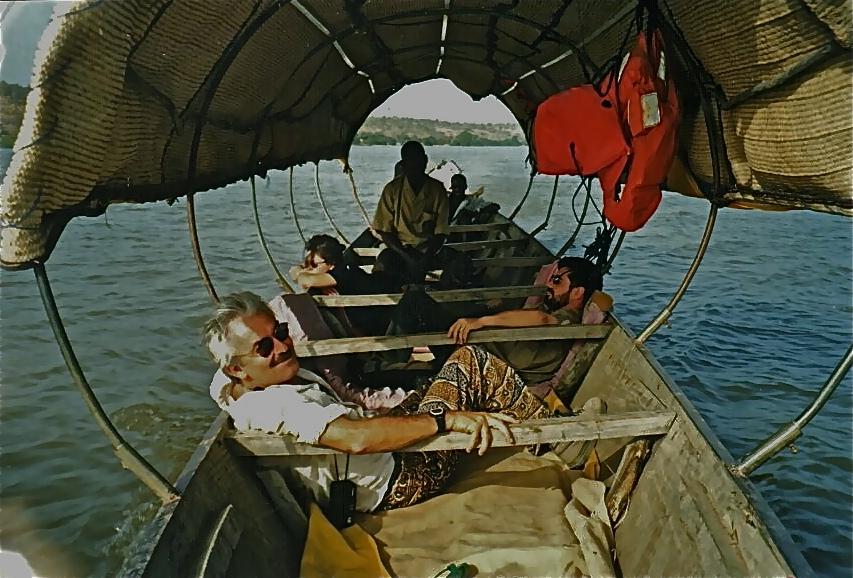 Vogando no rio Níger
