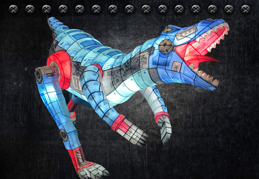 공룡(렉터사우루스)