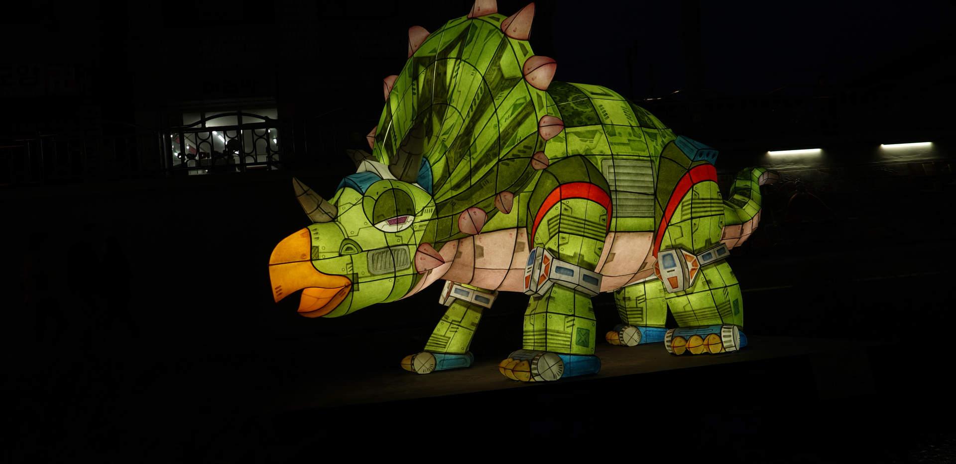 공룡(트리케사우루스)