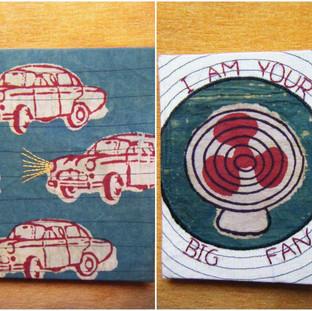 Bindaas print embroidered handmade paper diary