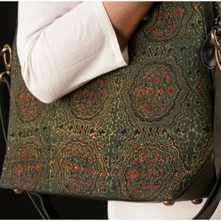 Ajrak handbag