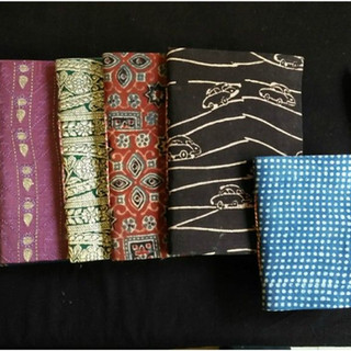 Hand made paper diaries