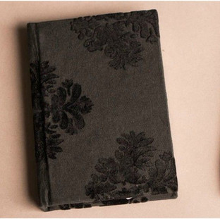 Flocking handmade paper diary