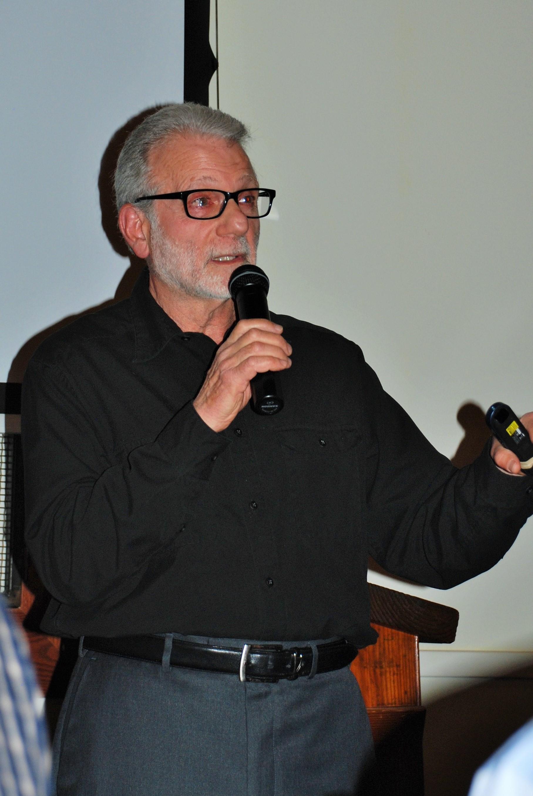 Frank Miller - Guest Speaker