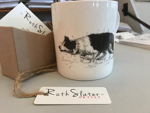 Collie Herding Mug