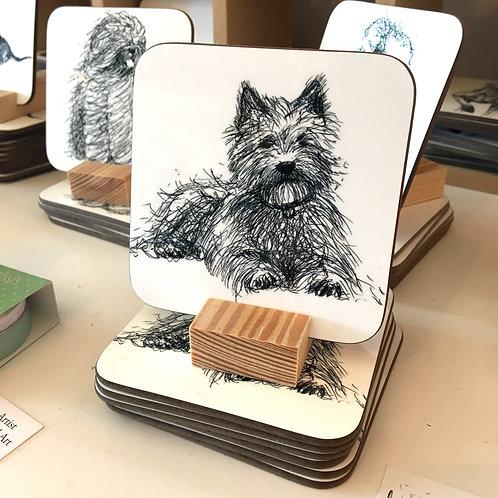 Cairn Terrier Coaster