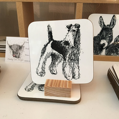 Fox Terrier Coaster
