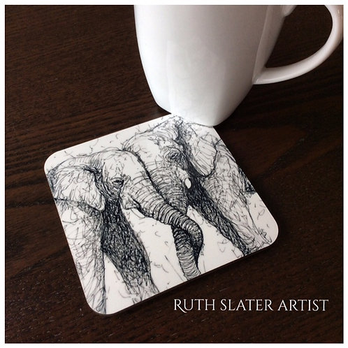 Entwined Elephant Coaster