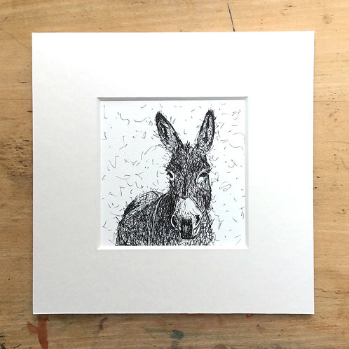 Solo Range Donkey Print