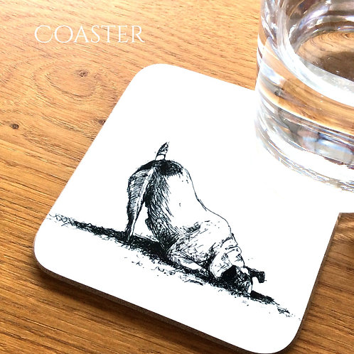 Dog Digging Coaster