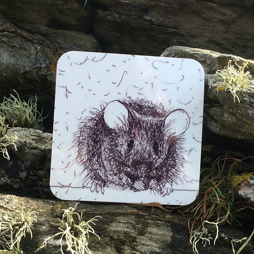 Solo Wire Work Mouse Coaster
