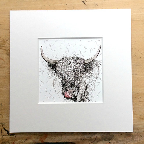 Solo Cheeky Cow Print