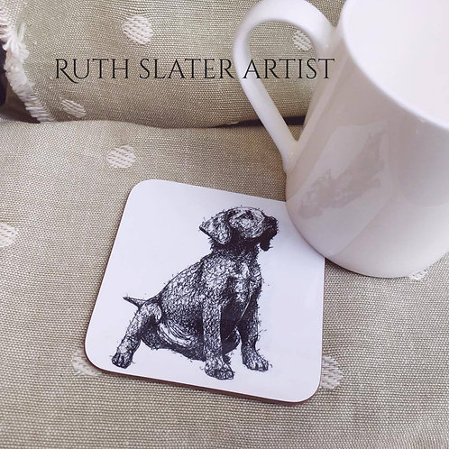 Labrador Puppy Coaster