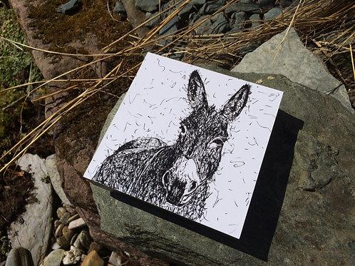 Donkey Printed Canvas