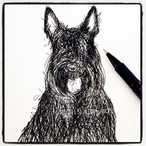 Mini Original Scottie
