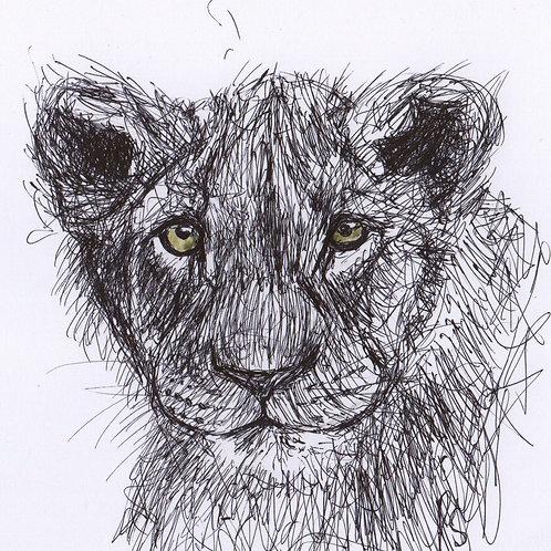 Mini Original Lion Cub