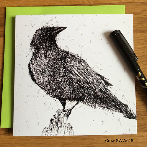 Crow - Solo Wire Work Card