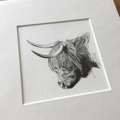 Mini Original Highland Cow