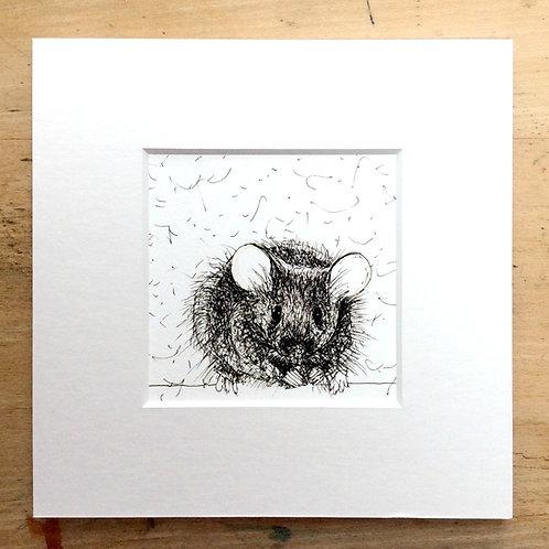 Solo Range Mouse Print