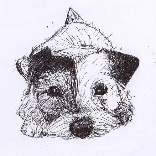 Mini Original Waiting Terrier