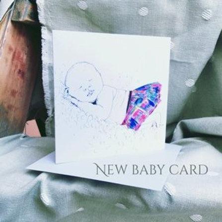 New Baby Card (Tartan Range)