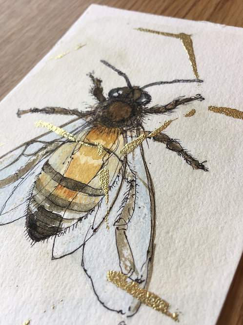 Bee Postcard May 1st
