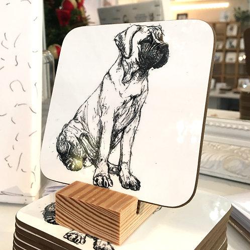 Bull Mastiff Coaster