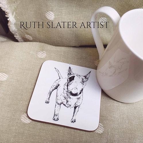 Pitt Bull Terrier Coaster