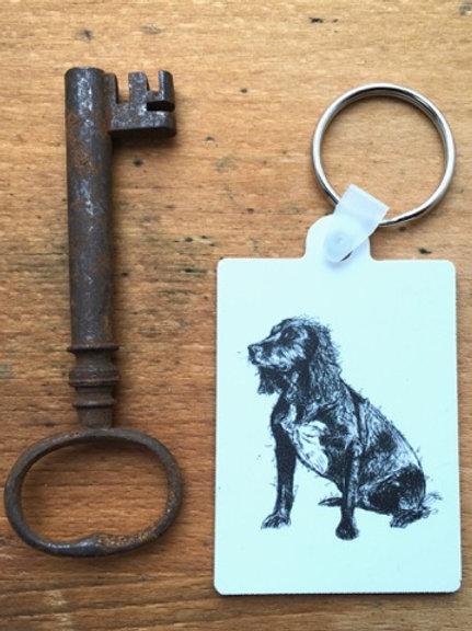 Spaniel Keyring (+postage)