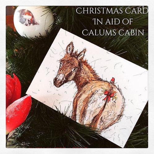 Christmas Card (On behalf of Calum's Cabin)
