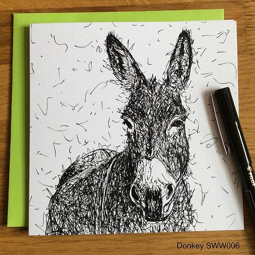 Donkey card - Solo Wire Work Range