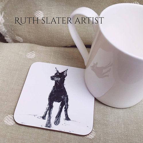 Doberman Coaster