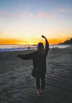 Carine at Laguna Beach