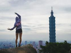 Sabrina in Taiwan