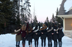 Sisters on Retreat in Tremblant