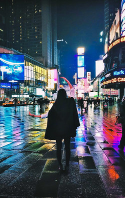 Josephine at Times Square