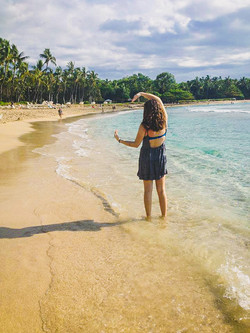 Charlotte in Mauna Kea