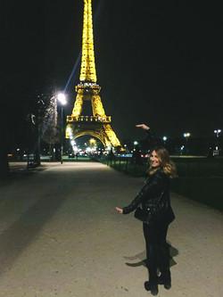 Michelle in Paris