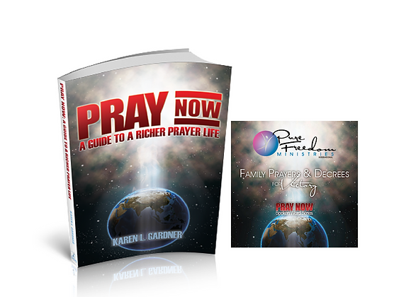 Pray Now Book & 59-Minute Prayer CD Bundle plus S/H