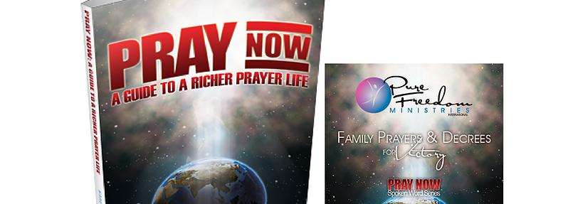 Pray Now Book & 59-Minute Prayer CD Bundle plus S/H