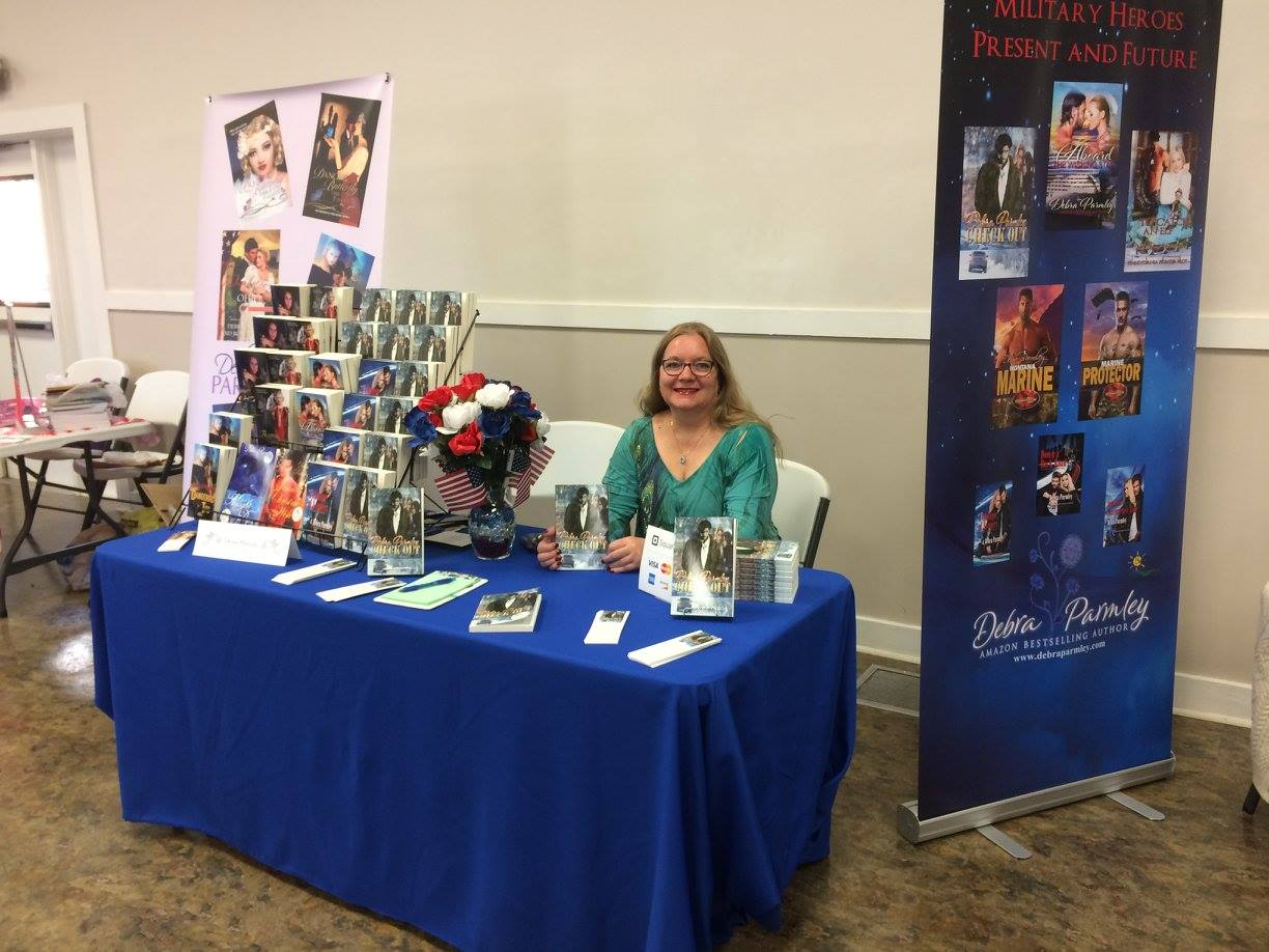 Author Debra Parmley