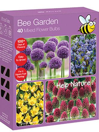 Bee Garden - 40 Mixed Flower Bulbs