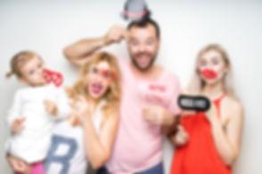 Family Photobooth Photoshoot