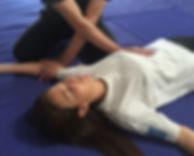 shiatsu curso de iniciación tecnica de lado
