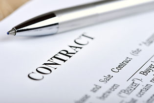 Legal contract signing - buy sell real e