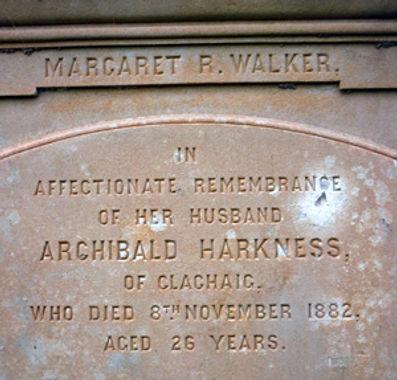 Archibald Harkness - Kilmun Churchyard (4).JPG