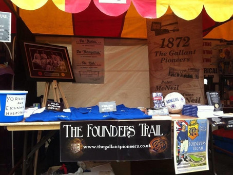 Founders Trail Memories.Tims In Attempt to Sabotage Founders Trail!