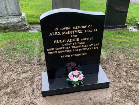 The Restoration of Rangers Graves Project. How You Can Help?