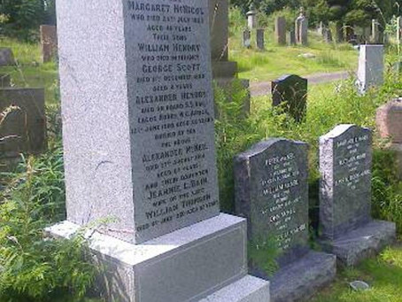The Restoration of Rangers Graves Project. Donations.